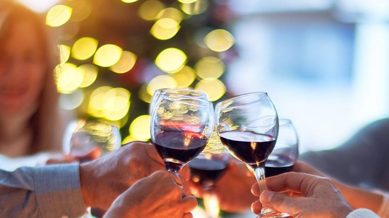 Drinking wine at Christmas | Milk Thistle for overindulgence