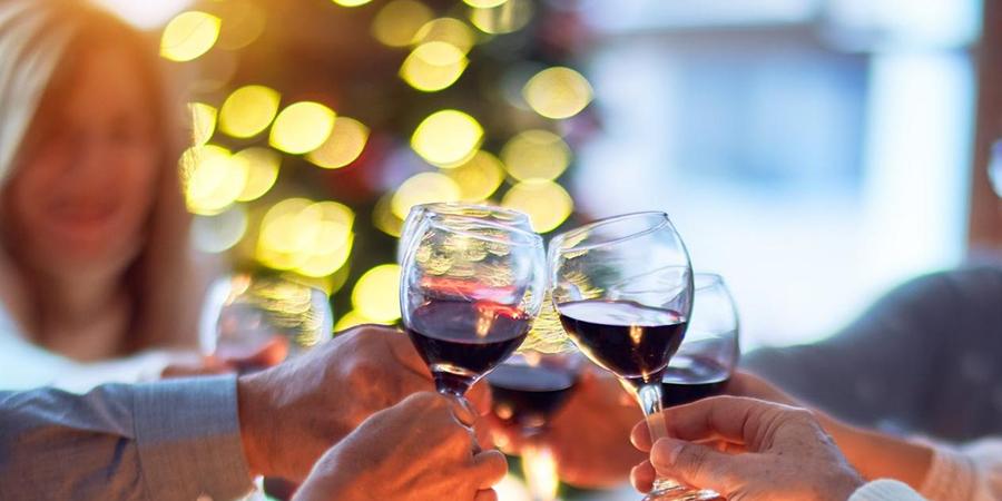 Drinking wine at Christmas   Milk Thistle for overindulgence